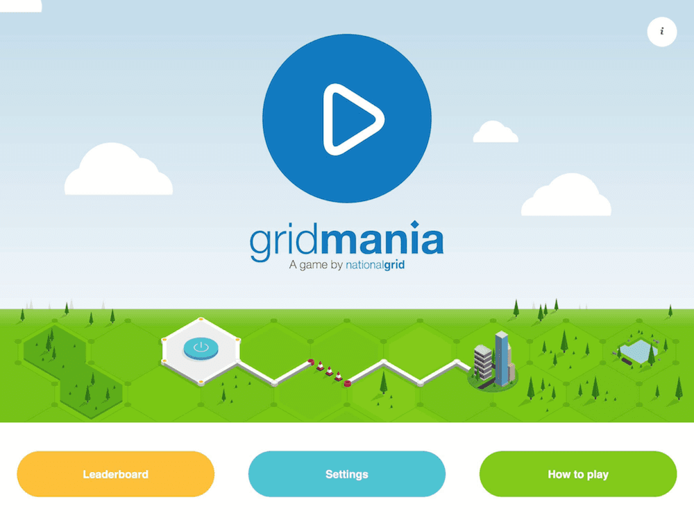 GridMania app by NationalGrid screenshot on iPad