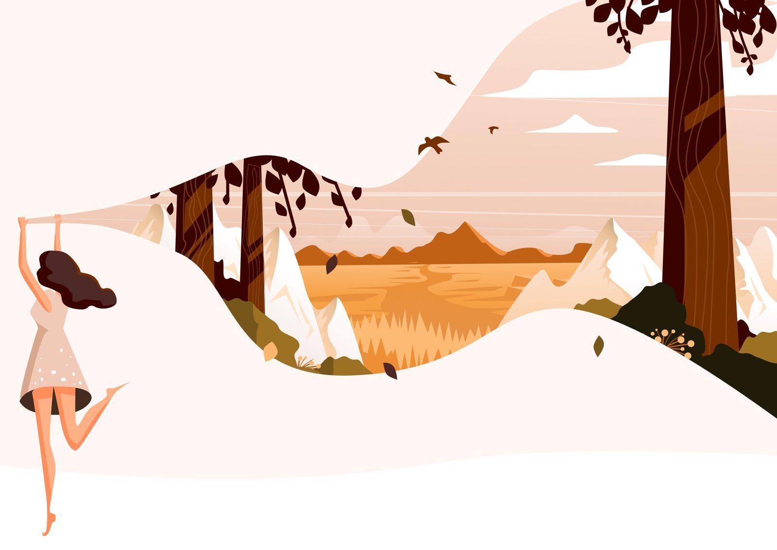 Breathe Digital Illustration