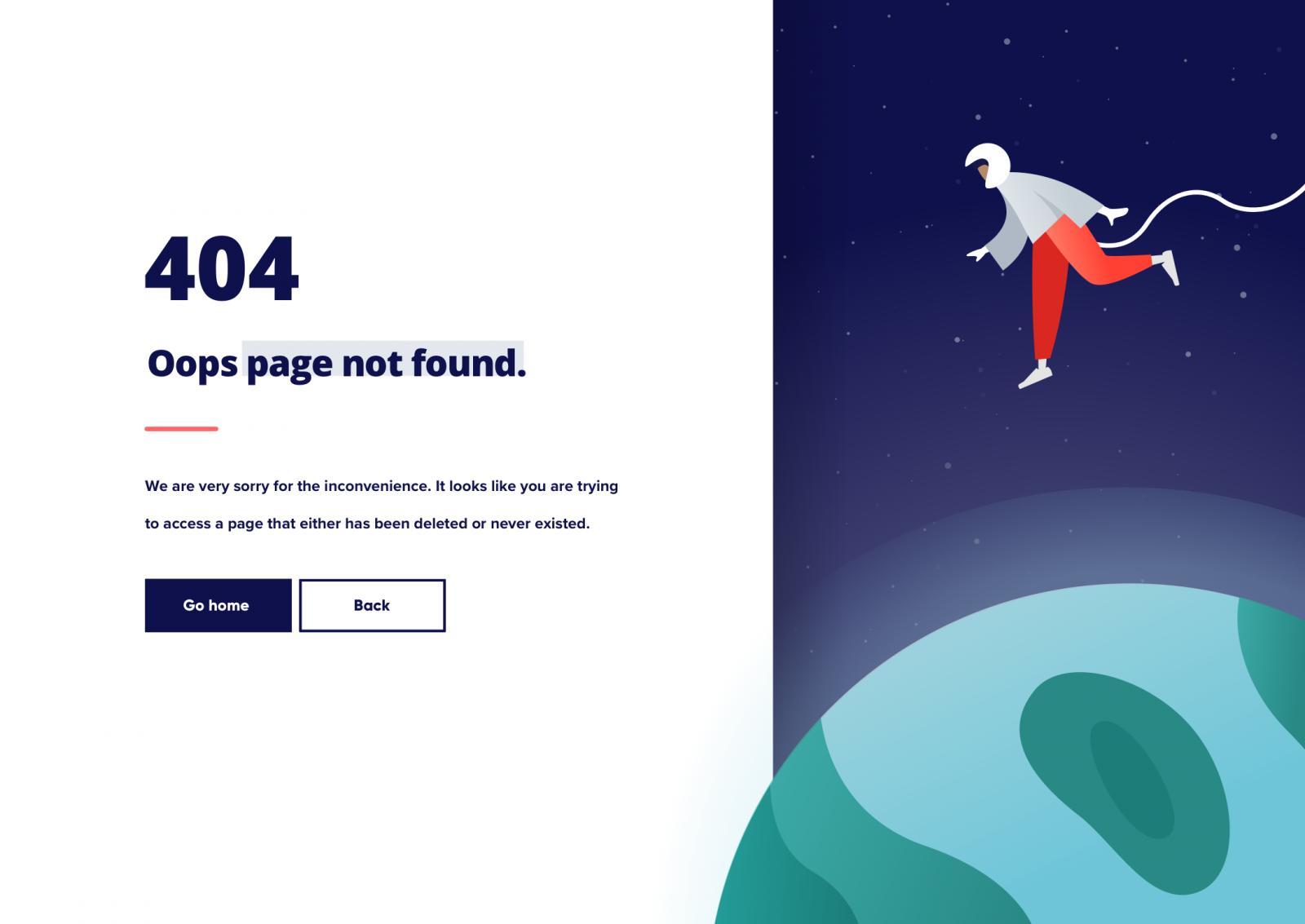 Lumberjack 404 Design