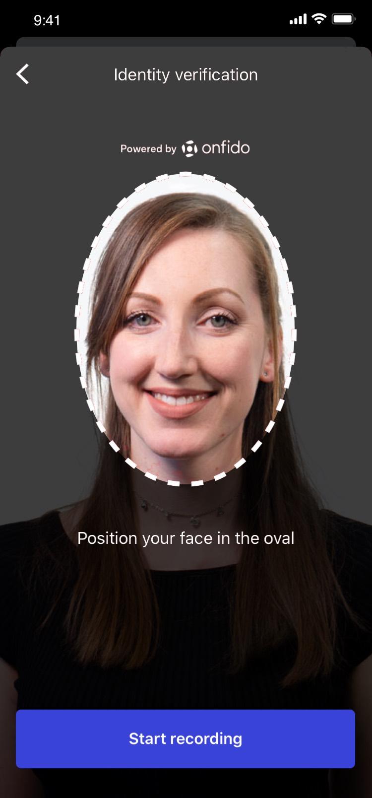 John Charcol Mobile App Face ID