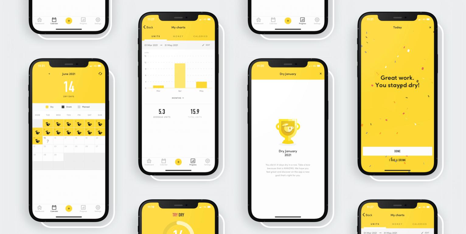 Try Dry App screenshots